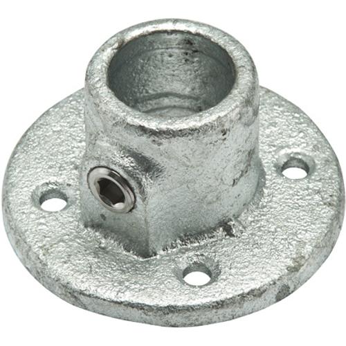 Socle de base Flexfit métal galvanisé rond diam. 28 mm