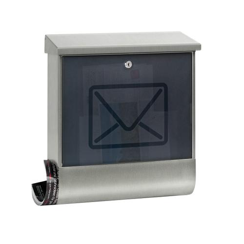 Burg Wächter brievenbus 'Lucenta 2700 NI' grijs/antraciet