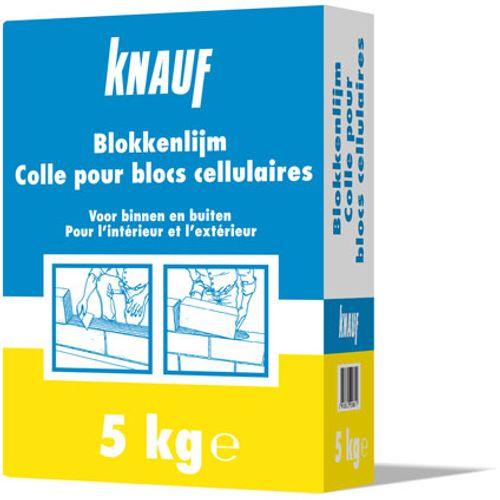 Colle pour blocs cellulaires Knauf 5 kg