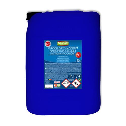 Hypochlorite de soude 50° Forever 25 L