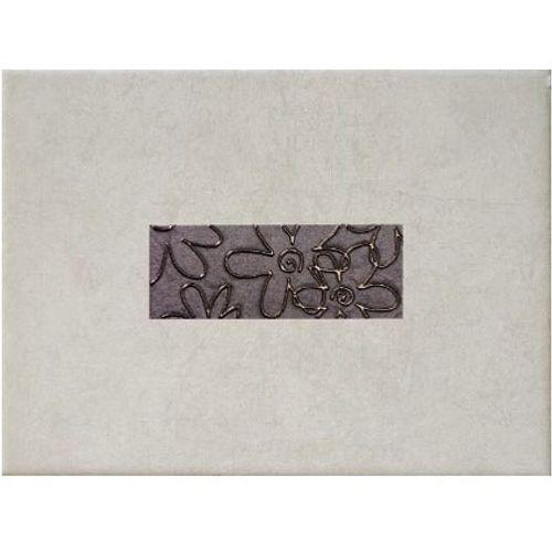 Decoratief wandtegel 'Fiore Grigio' 33,3 x 25 cm