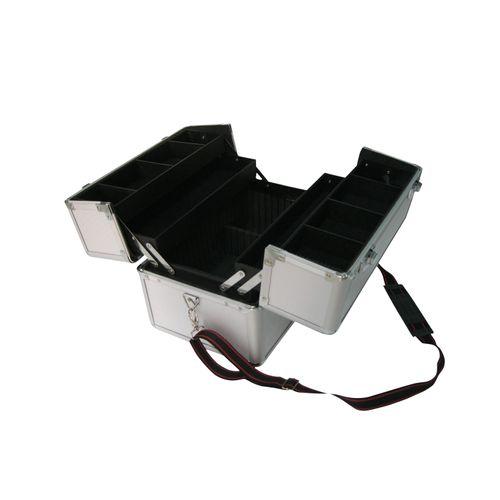 Sencys uitklapbare gereedschapskoffer aluminium 36 cm