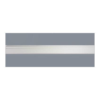 Sencys engelse plint wit te verven 1,4x7,5cm