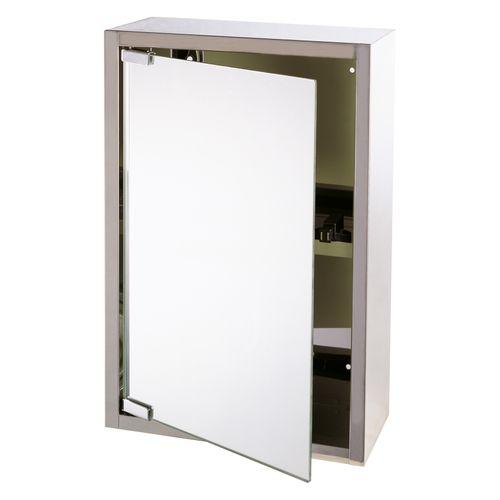Differnz spiegelkast Look 51x36x18 cm zilver