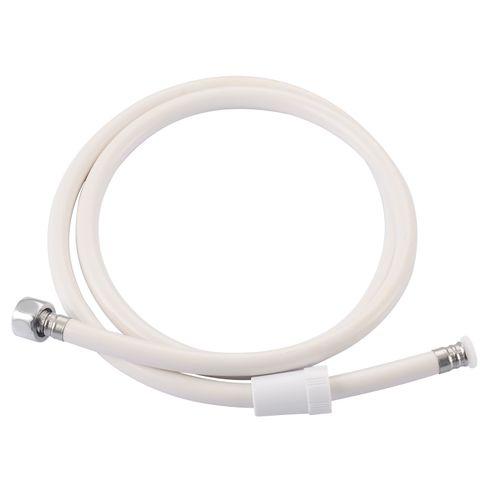 Flexible de douche Baseline PVC blanc 150cm