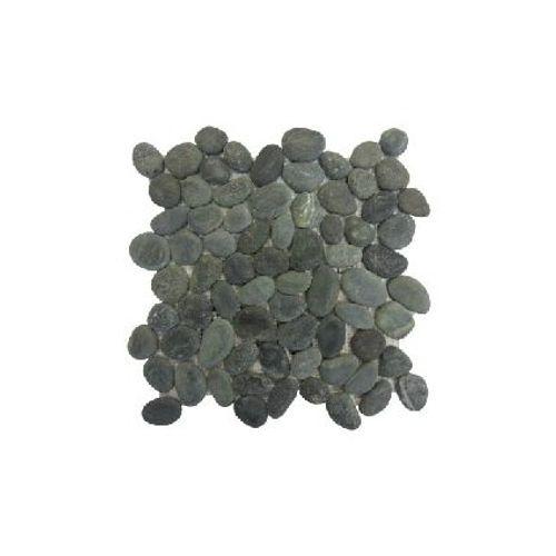 Mosaïque Coeck Caillou noir 30 x 30 cm