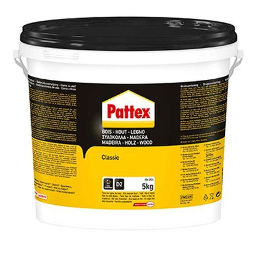 Pattex houtlijm 'Classic' wit 5kg