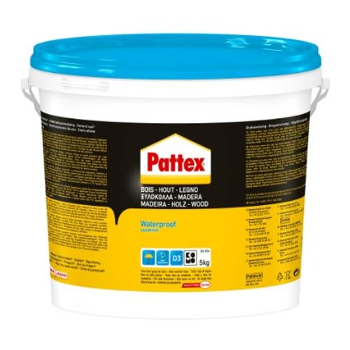 Pattex Houtlijm 'Waterproof' 5kg
