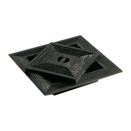 Martens putdeksel gietijzer grijs 60x60cm