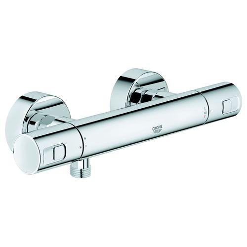 GROHE Precision Joy - Thermostat de douche fiable avec technologie GROHE TurboStat®