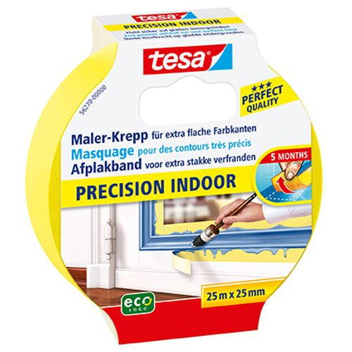 "Ruban de masquage Tesa ""Precision Indoor"" 25mx25mm"