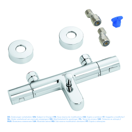 Mitigeur de bain thermostatique Grohe Joy chrome