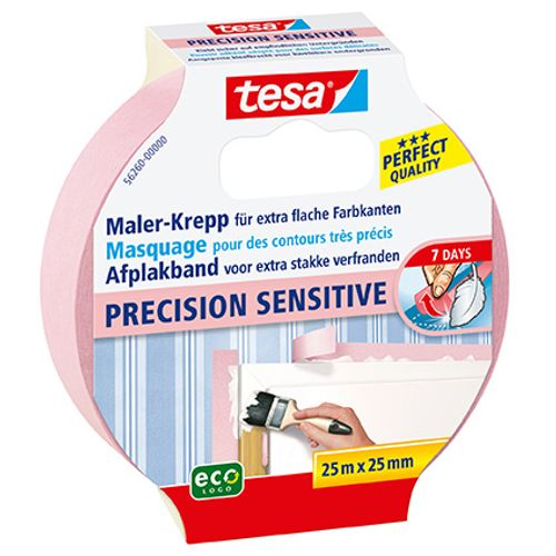 "Ruban de masquage Tesa ""Precision Sensitive"" 25mx25mm"