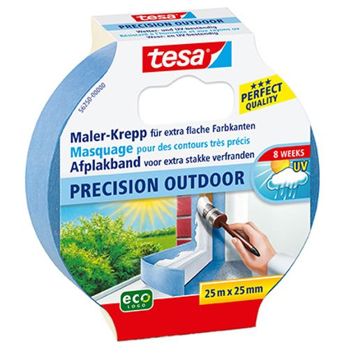 "Tesa afplakband ""Precision Outdoor"" 25mx25mm"