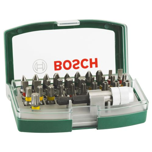 Set d'embouts de vissage  Bosch - 32 pièces