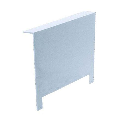 Plaque siphon Martens 'Ecoline' gris clair 20 x 20 cm