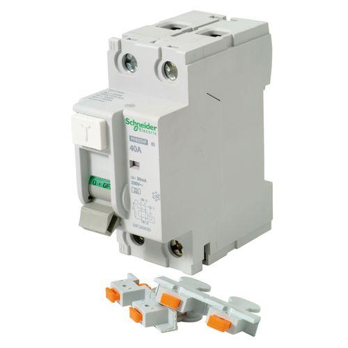 Interrupteur différentiel Schneider 2 pôles 30 mA