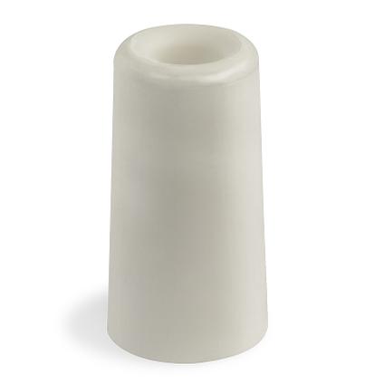 Sencys deurbuffer 75mm wit rubber