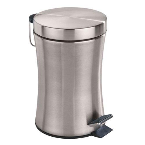 Poubelle à pédale Wenko 'Peino' métal inox 3 L