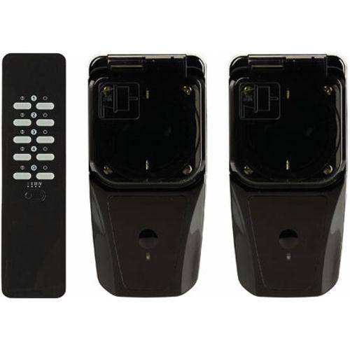 KlikAanKlikUit draadloze buiten schakelaarset met afstandsbediening AGD2-3500R