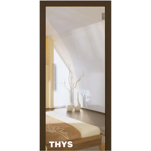 Porte en verre sécurit Thys 'Thytan Everyway' clair 211x88cm