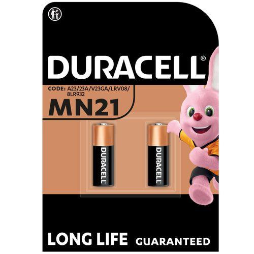 Duracell alkaline batterij 'MN21 - 8LR23' 12 V - 2 stuks