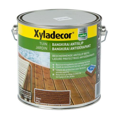 Lasure Xyladecor Bangkirai Antidérapant pin satin 2,5L