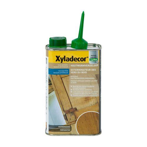 Traitement du bois Xyladecor 'Exterminateur de vers' 500ml