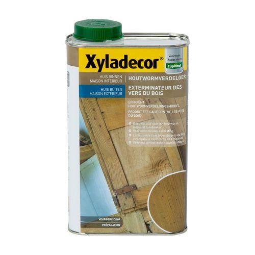 Traitement du bois Xyladecor 'Exterminateur de vers' 1L