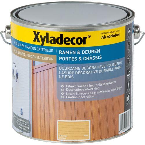 Lasure Xyladecor 'Portes & châssis' incolore satin élevé 2,5L