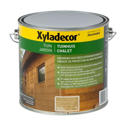 Lasure Xyladecor 'Chalet' chêne naturel mat 2,5L