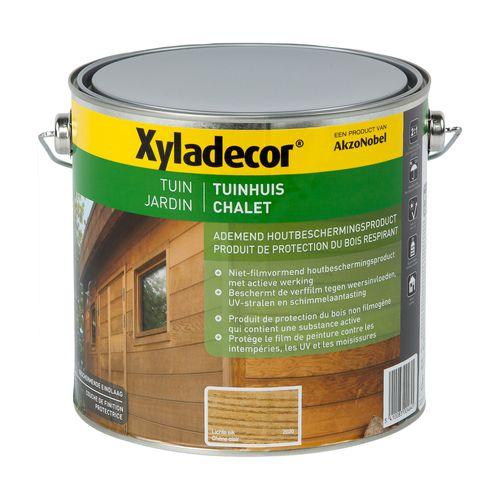 Lasure Xyladecor Chalet chêne clair mat 2,5L