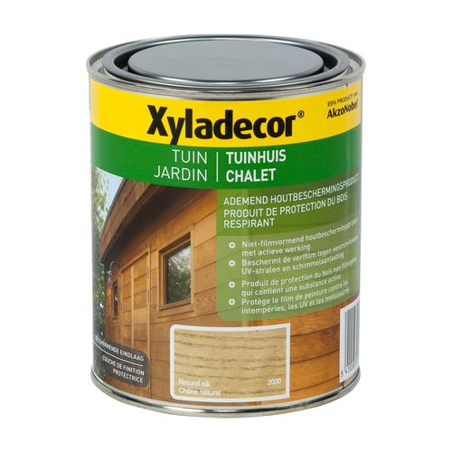 Xyladecor houtbeits 'Tuinhuis' naturel eik mat 750ml