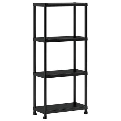 Baseline rek XL PVC zwart 30 x 60 x 135 cm