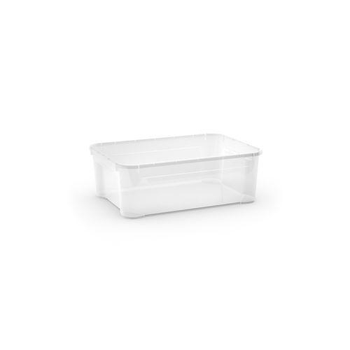 Boîte de rangement Sencys 'T Box M' transparent 31L