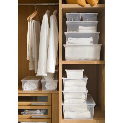 Boîte de rangement Baseline 'C Box S' transparent