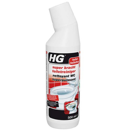 HG super kracht toiletreiniger 500 ml