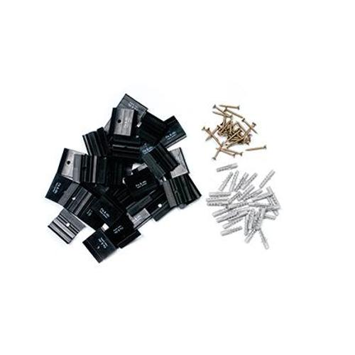 Sencys plintclips 'Fix & Click' MDF - 30 stuks