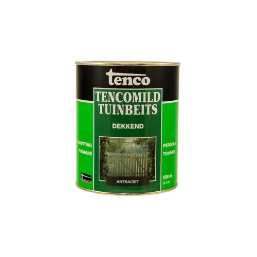 Tenco Tencomild tuinbeits dekkend antraciet 1L