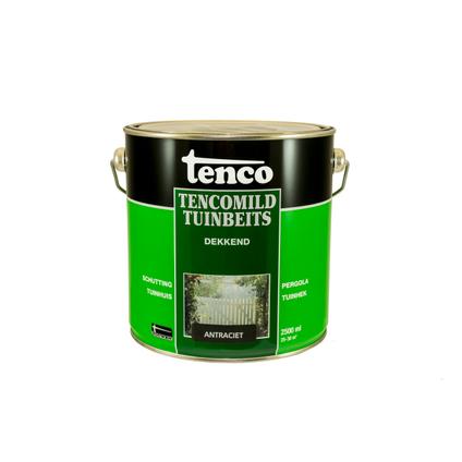 Tenco Tencomild tuinbeits dekkend antraciet 2,5L
