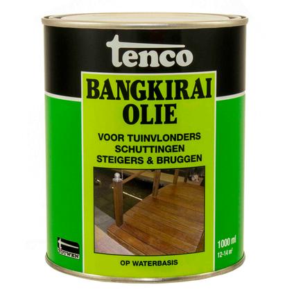 Tenco bangkirai olie naturel 1L