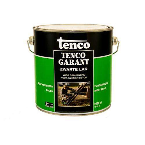 Tenco Tencogarant zwarte lak teervrij 2,5 l