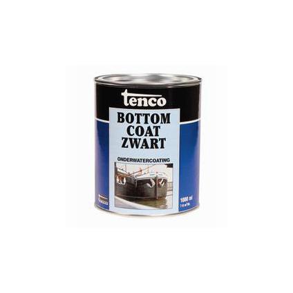 Tenco Bottomcoat onderwatercoating zwart 1 l