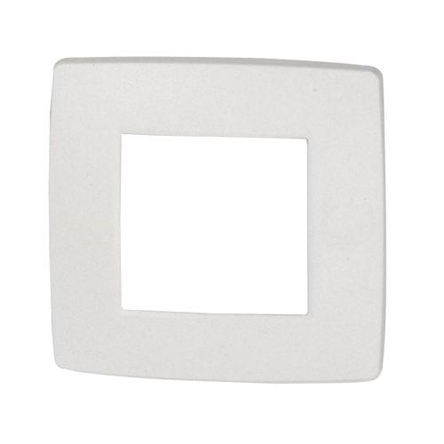 NIKO Plaque de recouvrement simple 5 plus 1 Original blanc