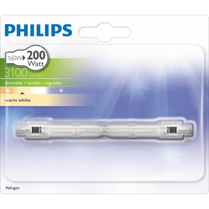 Philips halogeen staaflamp 160W R7S