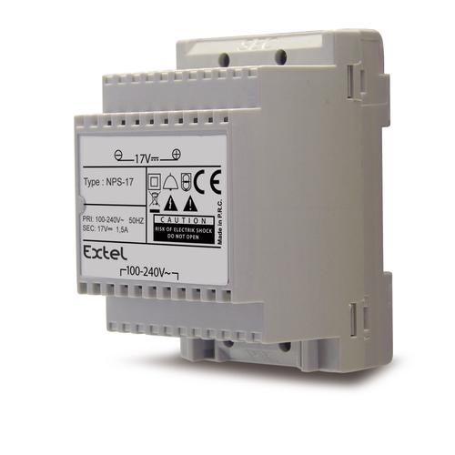 Extel transformator voor videofoon 'Modulo B' 100-240 V 17 V