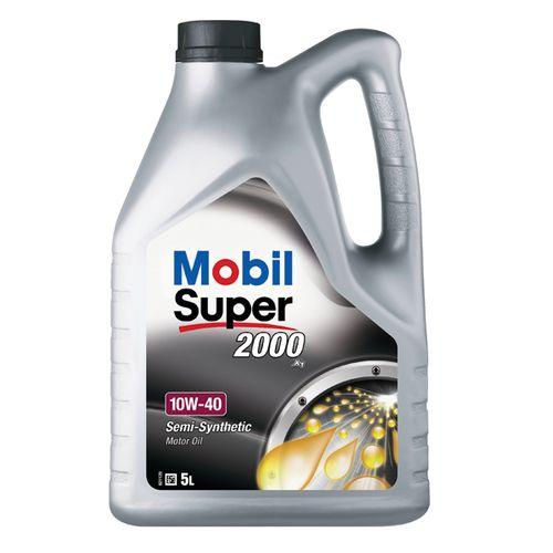 Mobil motorolie Super 2000 X1 10W40 Can 5L
