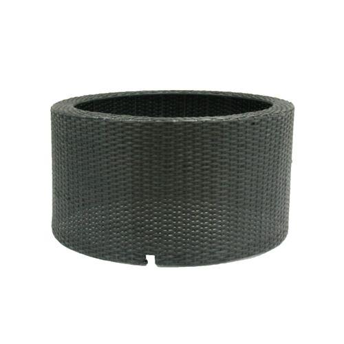 Sokkel voor waterfontein Ubbink 'Wicker I' rond zwart 90 L