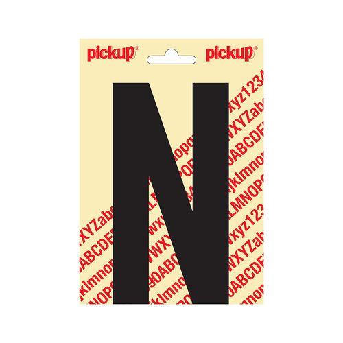 PickUp letter 'N' zwart 150 mm