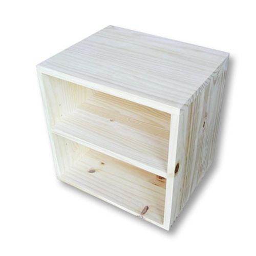 Cube de rangement séparation pin 36x36x30cm